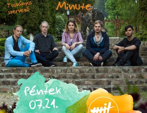 One More Minute JÚLIUS 21., PÉNTEK, 23:00