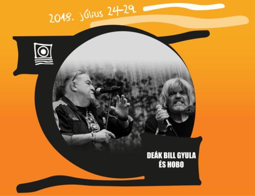 Deák Bill Blues Band és Hobo JÚLIUS 27., PÉNTEK, 21:30